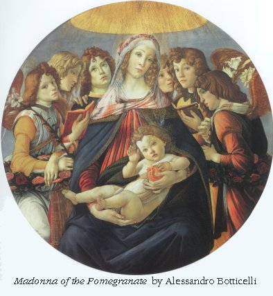 Madonna of the Pomegranates by Botticelli